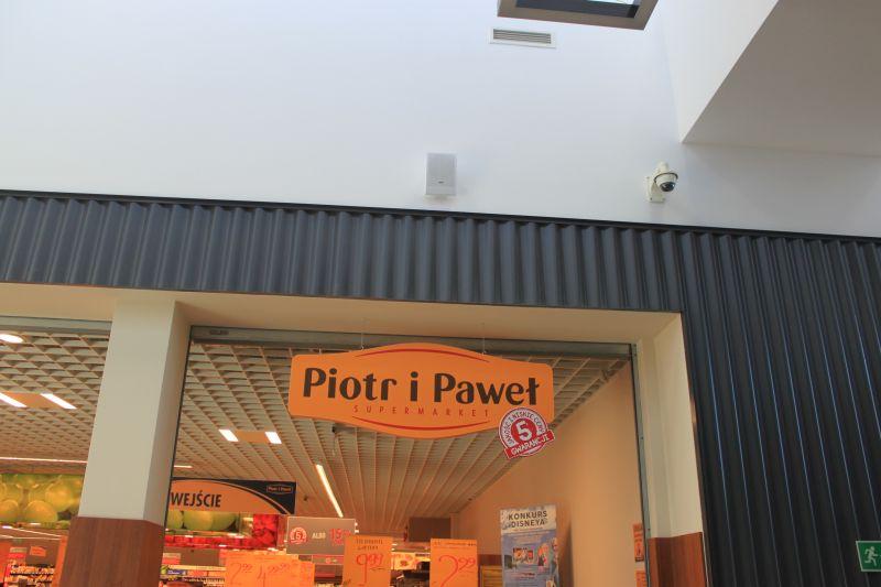 Nagłośnienie dla sklepów i powierzchni handlowych