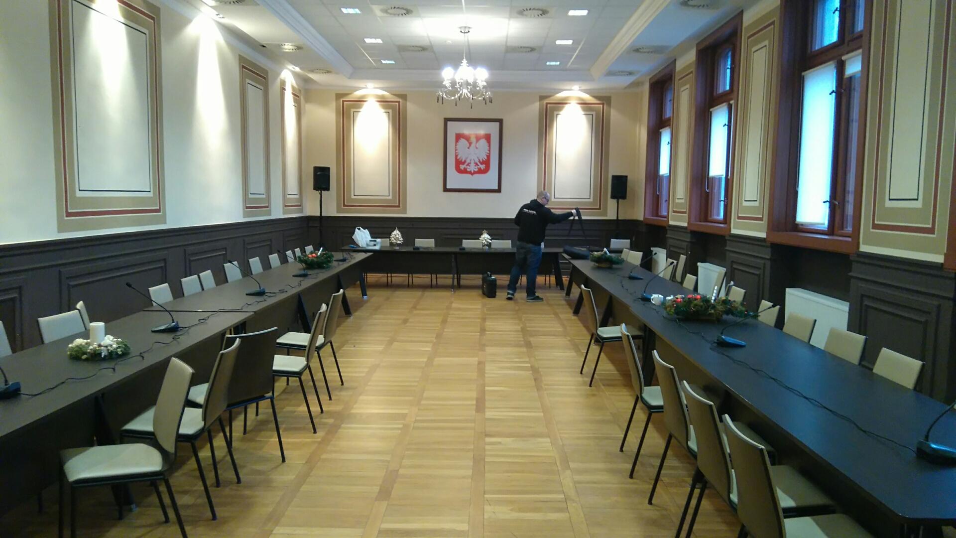 Dostawa systemu dyskusyjnego w Starostwie Powiatowym Gubin