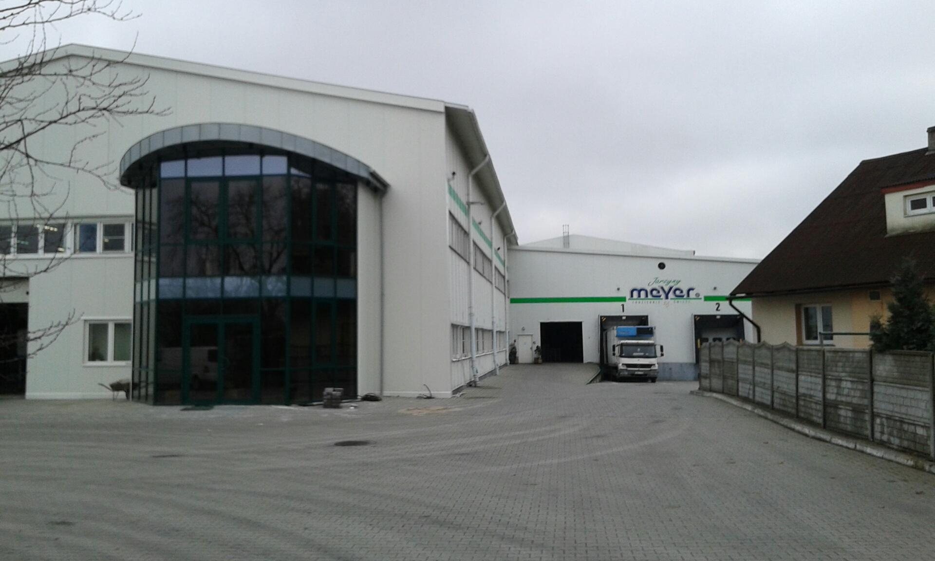 Instalacja audiowizualna sali konferencyjnej w firmie Jarzyny Meyer w Kożuchowie