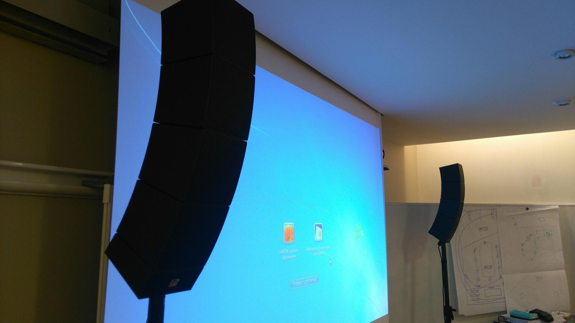 Nagłośnienie sali konferencyjnej PGNIG Zielona Góra
