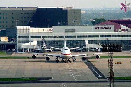 Lotnisko Chopina pętle indukcyjne