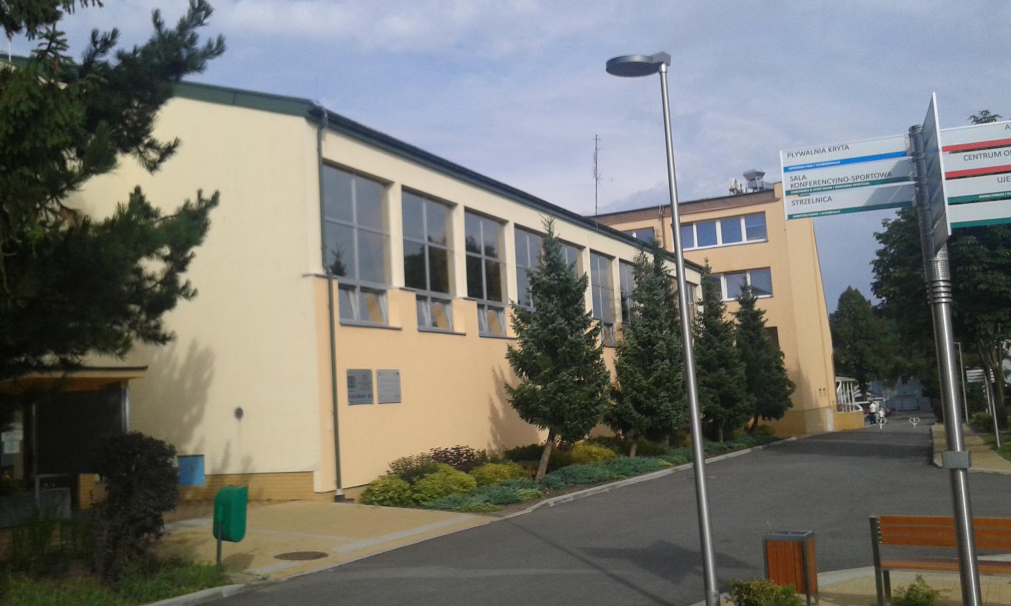 Modernizacja nagłośnienia - Basen WOSiR Drzonków
