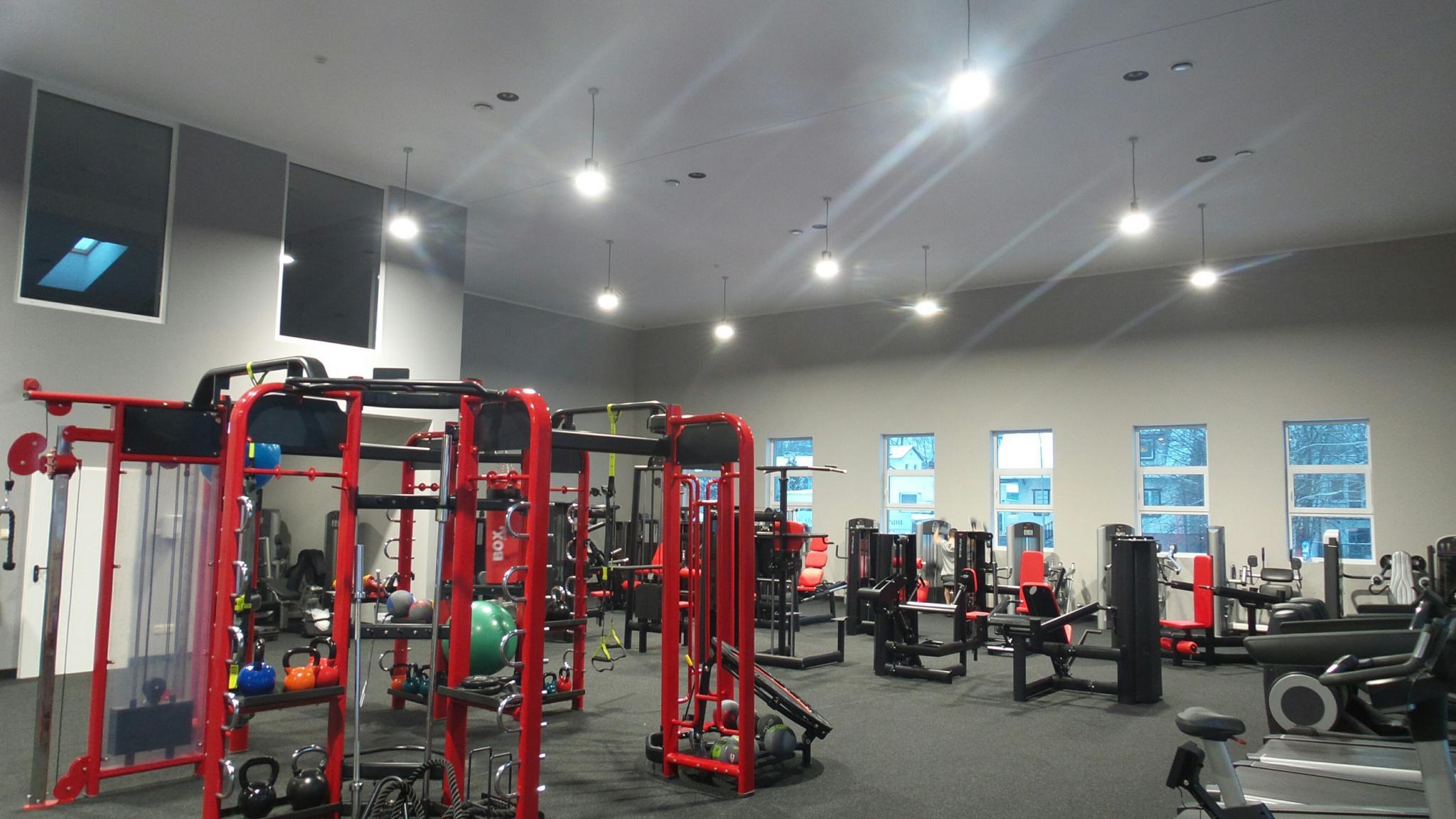 Nagłośnienie fitness klubu Maxfit Zielona Góra