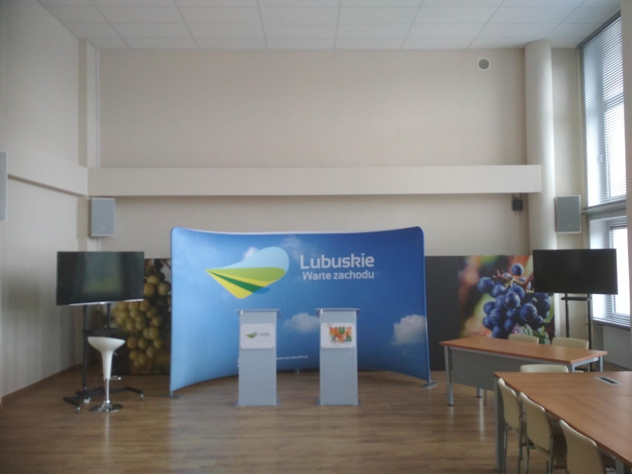 Nagłośnienie sali konferencyjnej Urzędu Marszałkowskiego